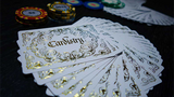 Cardistry Calligraphy Golden Foil Playing Cards TPCC - PlayingCardDecks.com