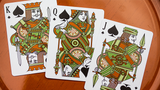 Olive Tally-Ho Playing Cards