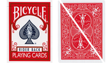 Split Eyed Popper Bicycle Trick Playing Cards Red