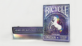 Unicorn Rainbow Gilded Bicycle Playing Cards