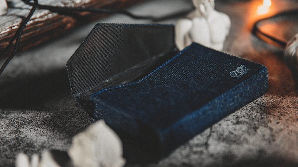Denim Jean Bag Playing Card Deck Holder