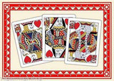 Triplicate No. 18 Red Playing Cards Deck USPCC:PlayingCardDecks.com