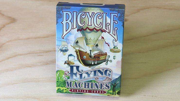 Flying Machines Bicycle Playing Cards Deck - PlayingCardDecks.com