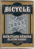 Chainless 1899 Heritage Series Bicycle Playing Cards Deck - PlayingCardDecks.com