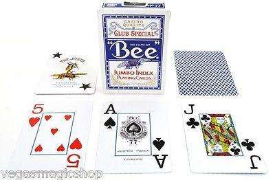 Bee Jumbo Index Poker Playing Cards 1 Sealed Red Deck
