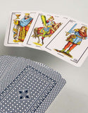 Heraclio Fournier No. 1 Spanish Playing Cards - Blue & Red