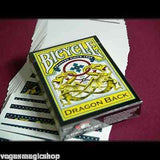 Dragon Back Yellow Bicycle Playing Cards Deck - PlayingCardDecks.com