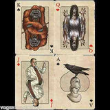Edgar Allan Poe Bicycle Playing Cards Deck - PlayingCardDecks.com