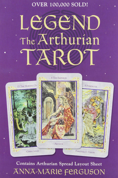 Legend: The Arthurian Tarot Kit - 78 Card Deck & 276 Page Book:PlayingCardDecks.com