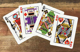 8-Bit Gold Playing Cards