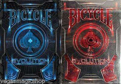 Evolution 2 Deck Set Bicycle Playing Cards - PlayingCardDecks.com