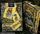 Everyday Zombies Bicycle Playing Cards Deck - PlayingCardDecks.com