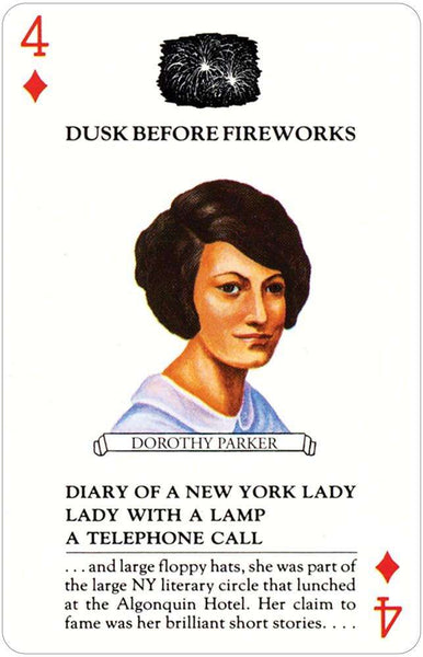 GAMES Details about  /American Women Authors  PLAYING CARD DECK U.S