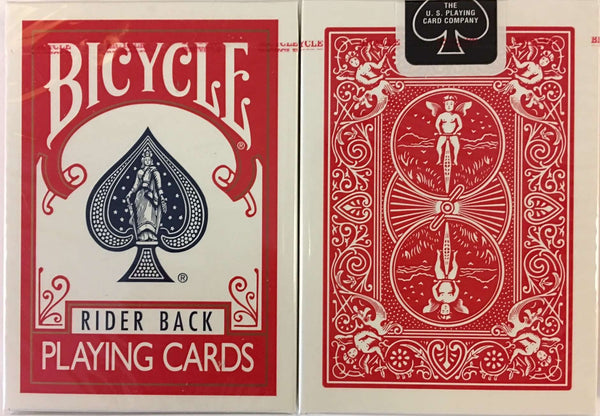 Red Rider Back Bicycle Playing Cards:PlayingCardDecks.com