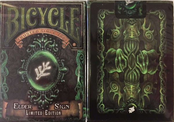 Elder Sign Bicycle Playing Cards Deck - PlayingCardDecks.com
