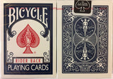 Blue Rider Back Bicycle Playing Cards - PlayingCardDecks.com