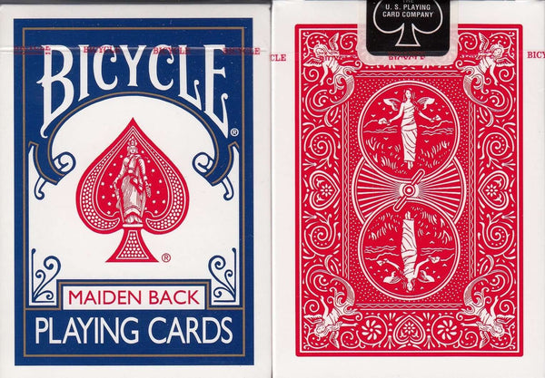 Maiden Back Bicycle Playing Cards:PlayingCardDecks.com