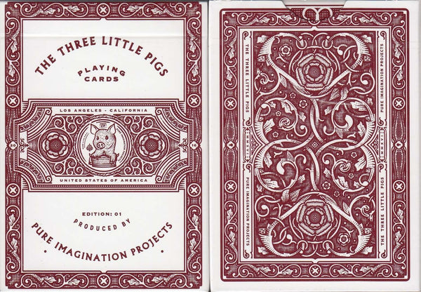 The Three Little Pigs Playing Cards USPCC:PlayingCardDecks.com