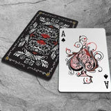 Red Tune Playing Cards USPCC:PlayingCardDecks.com