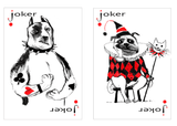 Pack of Dogs Playing Cards USPCC Jokers