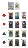 Angelarium Trilogy Bicycle Playing Cards - 3 Editions - PlayingCardDecks.com