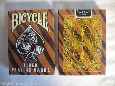Tiger Bicycle Playing Cards Deck:PlayingCardDecks.com
