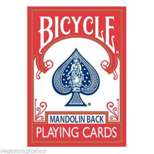 Mandolin 809 Red & Blue Back 2 Deck Set Bicycle Playing Cards
