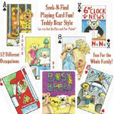 Busy Bears Playing Cards Seek-N-Find Deck - PlayingCardDecks.com