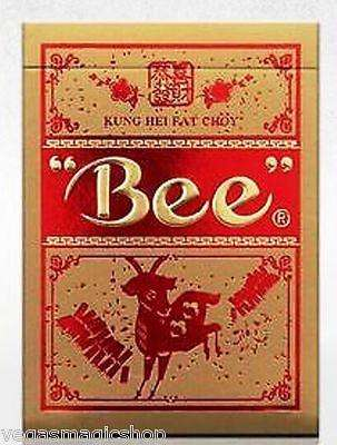 Year of the Goat Kung Hei Fat Bee Playing Cards Deck:PlayingCardDecks.com