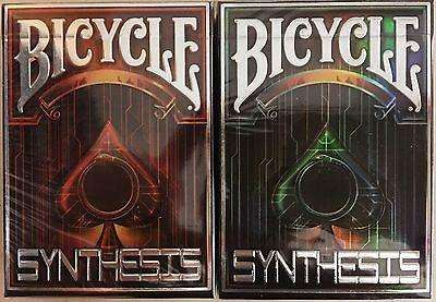 Synthesis 2 Deck Set Bicycle Playing Cards:PlayingCardDecks.com