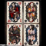 Vintage Vampires Bicycle Playing Cards Deck:PlayingCardDecks.com