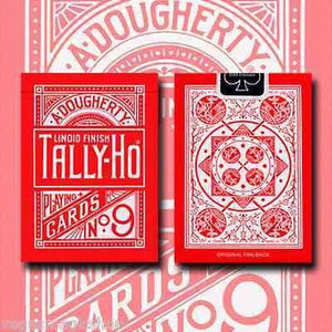 Spectrum Tally Ho Deck Playing Cards by US Playing Card Co.