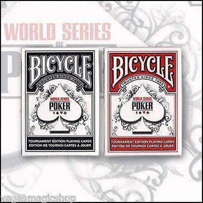 World Series of Poker Tournament 2 Deck Set Bicycle Playing Cards:PlayingCardDecks.com
