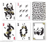 Panda Bicycle Playing Cards Deck:PlayingCardDecks.com