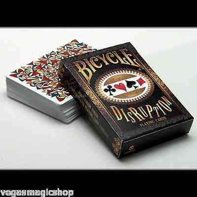 Disruption Bicycle Playing Cards Deck - PlayingCardDecks.com