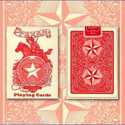 Texan Playing Cards Deck USPCC:PlayingCardDecks.com