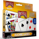 Euchre 2 Deck Set Bicycle Playing Cards - PlayingCardDecks.com