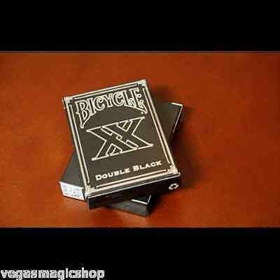 Double Black XX Bicycle Playing Cards Deck - PlayingCardDecks.com