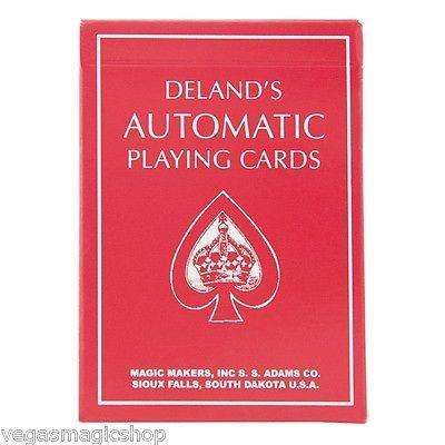 Red Deland's Automatic Playing Cards:PlayingCardDecks.com