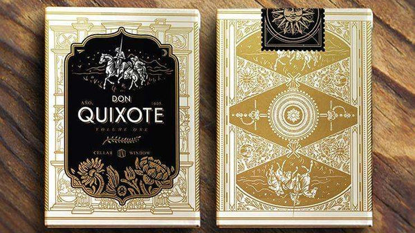 Don Quixote Vol. 1 Don Edition Playing Cards Deck - PlayingCardDecks.com