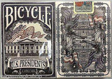 US Presidents V2 Blue & Red 2 Deck Set Bicycle Playing Cards:PlayingCardDecks.com