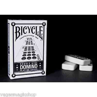 Double Nine Domino Bicycle Playing Cards Bridge Size Deck - PlayingCardDecks.com