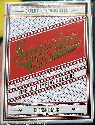 Superior Robusto Playing Cards Deck EPCC:PlayingCardDecks.com