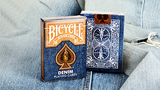 Denim Bicycle Playing Cards Deck - PlayingCardDecks.com