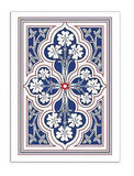 1864 Saladee's Replica Playing Cards Original Release Deck Hart's Linen Eagle - PlayingCardDecks.com
