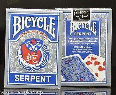 Serpent Bicycle Playing Cards Deck:PlayingCardDecks.com