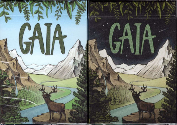 Gaia Playing Cards USPCC - Standard & Moonlight - PlayingCardDecks.com