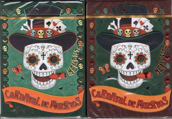 Carnaval De Muertos Playing Cards NPCC - Alheli & Marigold: 2 Deck Set