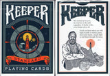 Keeper Playing Cards USPCC - Blue & Red Marked:PlayingCardDecks.com