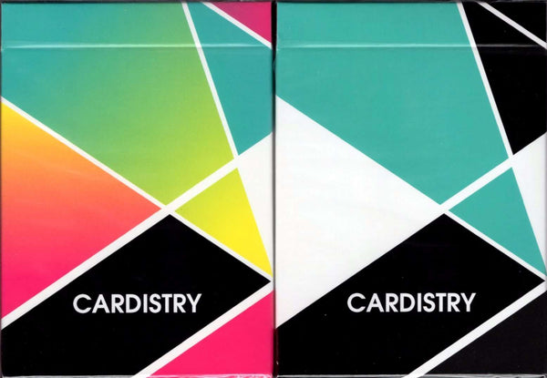Cardistry Playing Cards USPCC - Color & Turquoise - PlayingCardDecks.com
